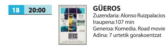 Zine-kluba: 'Güeros'