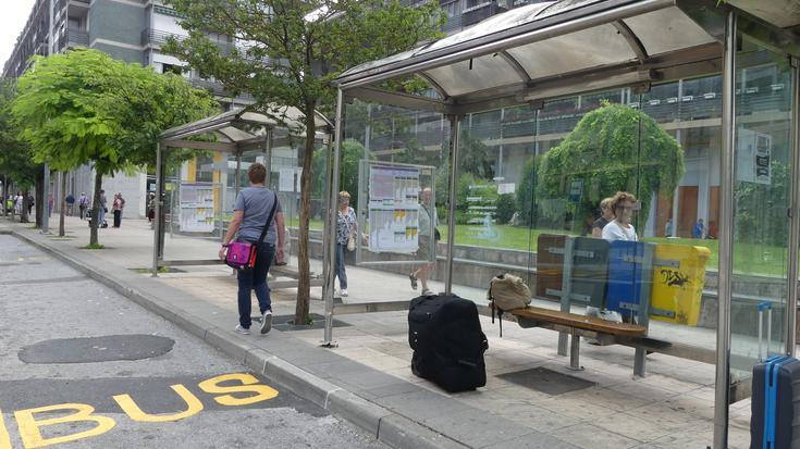 Gipuzkoako autobus-gidarien greba dela eta, zerbitzu minimoak Arrasaten