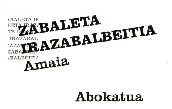 Zabaleta Irazabalbeitia Amaia abokatua