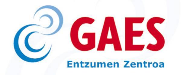 Gaes entzumen zentroa logotipoa
