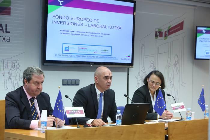 Europako mikrofinantzazio-lerro handiena kudeatuko du Laboral Kutxak: 75 milioi