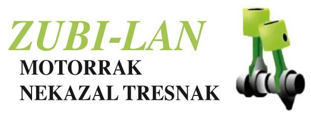 Zubi-lan nekazaritzako tresnak logotipoa
