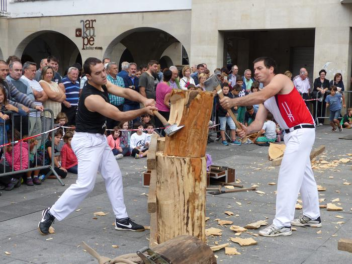 Euskal Herriko Txapelketa nagusirako 'berotzen'