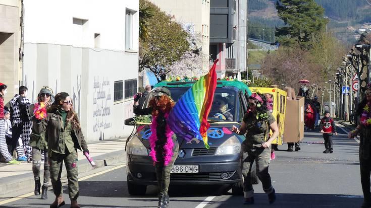 Eskoriatzako mozorro desfilea