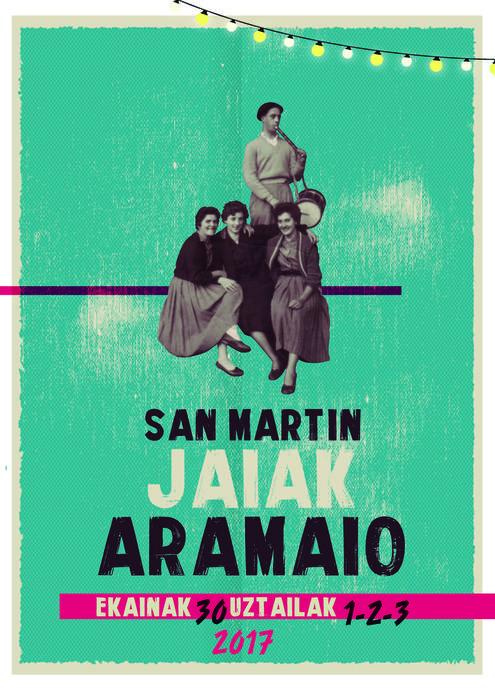 San Martin Jaiak 2017 Egitaraua