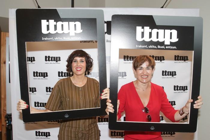 'Ttap' aldizkaria ezagutzeko jende asko elkartu da Donostian - 25