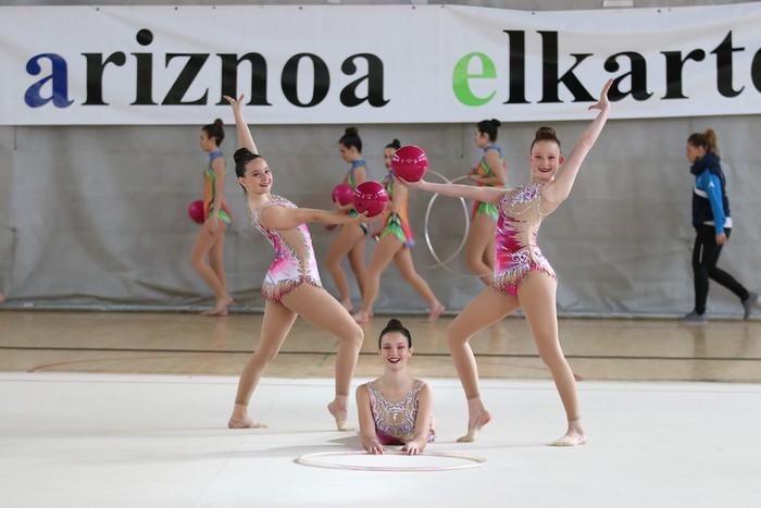 Maila bikaina gimnasia erritmikoko txapelketan - 9