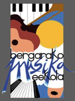 Bergarako Musika Eskola logotipoa