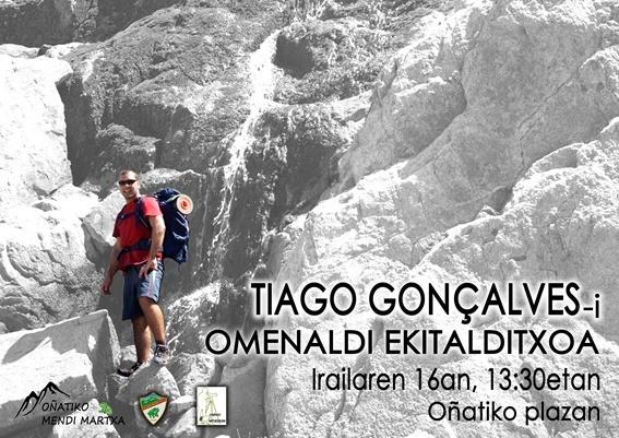 Tiago Gonçalvesi omenaldia