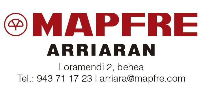 MAPFRE ARRIARAN ASEGURUAK logotipoa