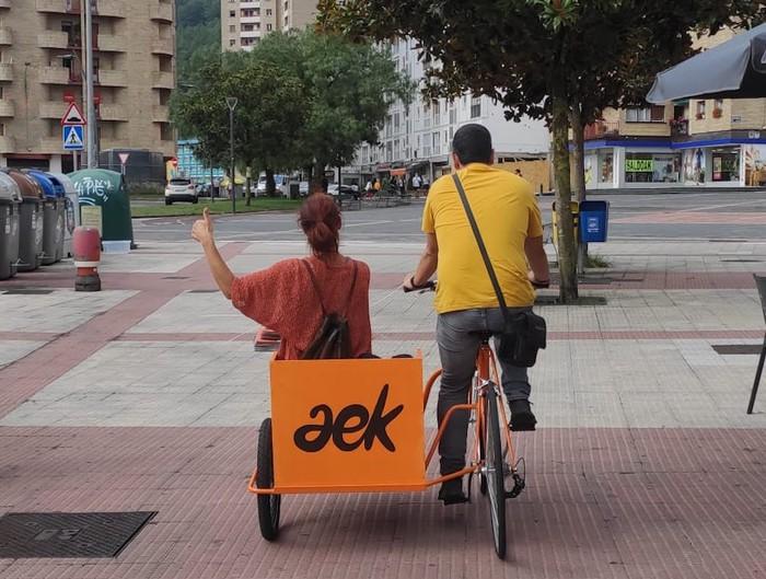 Debagoieneko AEK 'bizidekarrarekin' ibiliko da Arrasateko kaleetan