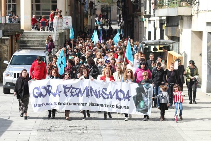 Parekidetasunarentzat erreferente feministekin