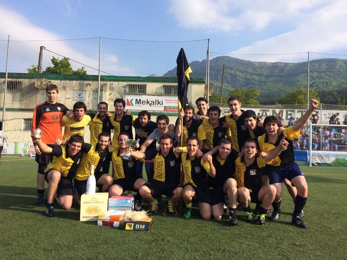 Herriko Futbol Txapelketa azken txanpan sartuko da asteburuan