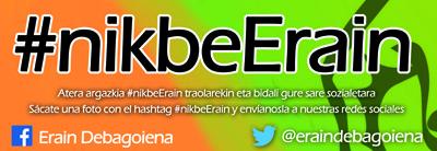 Erramu zapatuan #nikbeErain!