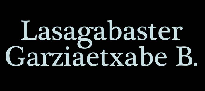 Lasagabaster Garziaetxabe B. abokatua