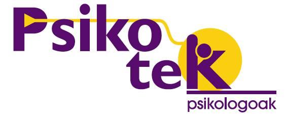 PSIKOTEK PSIKOLOGOAK logotipoa