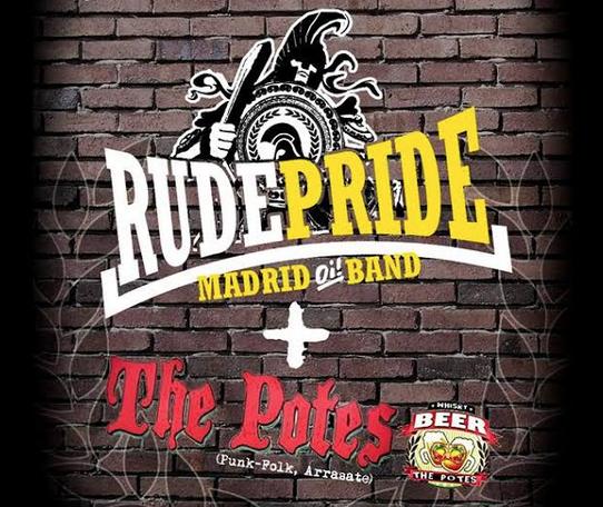Rude Pride eta The Potes taldeen kontzertua