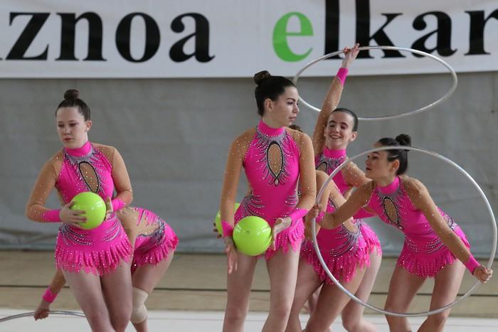 Maila bikaina gimnasia erritmikoko txapelketan - 17
