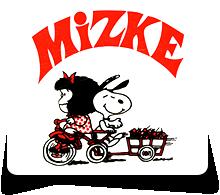 Mizke gozoki dendak logotipoa