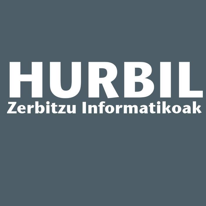 Hurbil Zerbitzu Informatikoak logotipoa