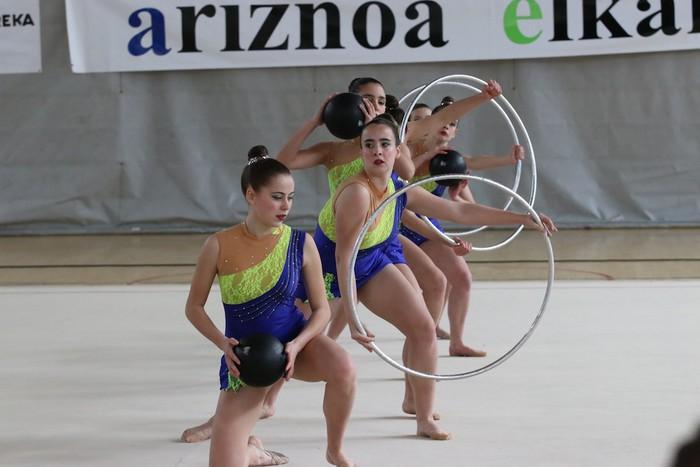 Maila bikaina gimnasia erritmikoko txapelketan - 25