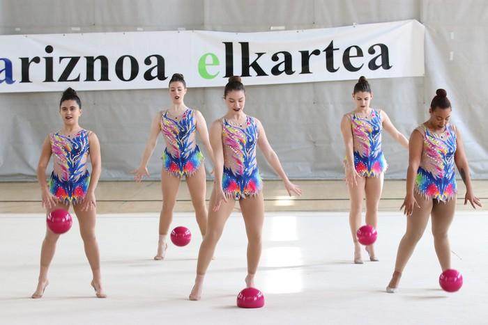 Maila bikaina gimnasia erritmikoko txapelketan - 51