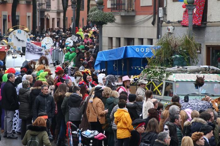 Inauterietako desfilea Aretxabaletan - 95