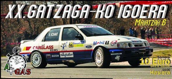 Gatzagako XX. auto igoera