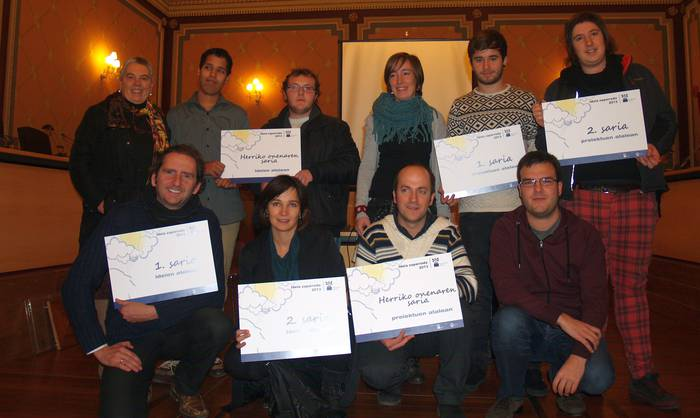 'Slow food' proiektuak irabazi du Ideia Zaparrada lehiaketa