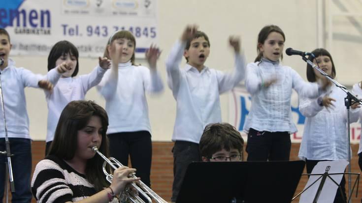 Debagoieneko musika eskolen kontzertua Eskoriatzan