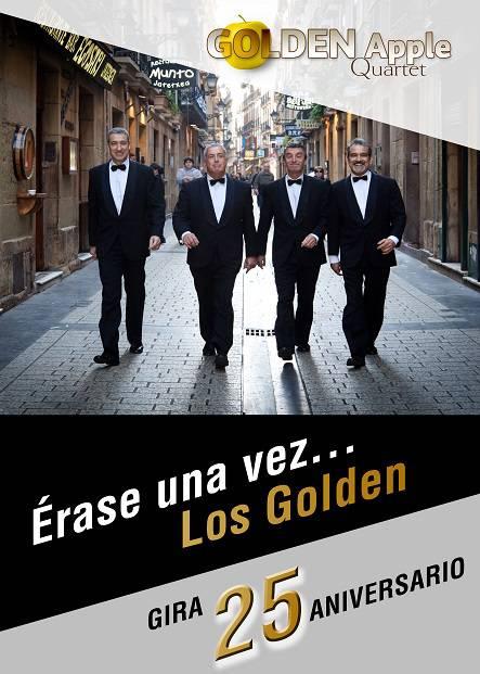 "Golden Apple Quartet ""Erase una vez... Los Golden"""