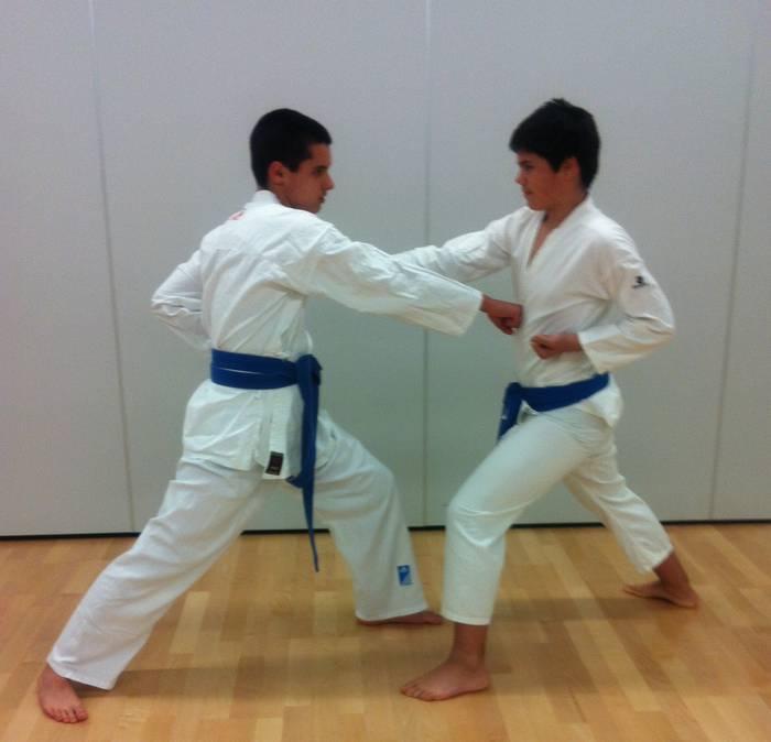 Aretxabaleta kirol elkarteko karatekek bikain jardun dute Gasteizen