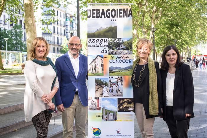 Debagoienaren turismo eskaintza Explore San Sebastian Region bulegoan
