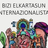 'Internazionalistak garelako, lehen urratsa Euskal Herria' hitzaldia