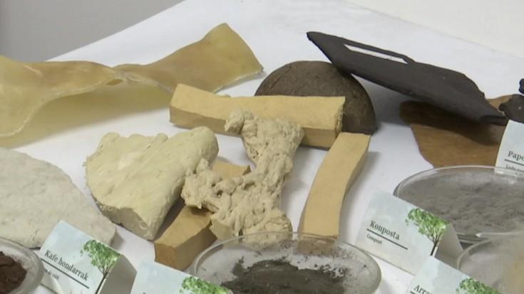 Bergarako Ekolber enpresak plastikoaren alternatiba topatu du