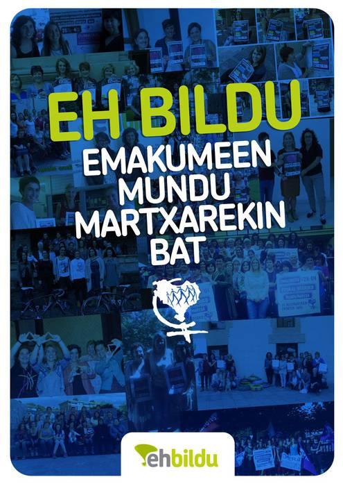 EH BILDU Emakumeen Mundu Martxarekin bat!!!