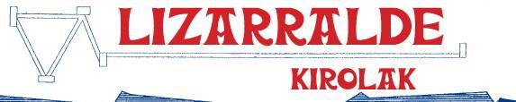Lizarralde Kirolak bizikleta denda logotipoa