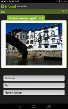 'Tribual', taldean jolasteko euskarazko 'trivial' aplikazioa doan Android-erako