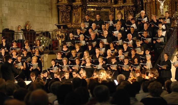 Vivaldi eta Bach-en obrak Bergarako Orfeoiarekin