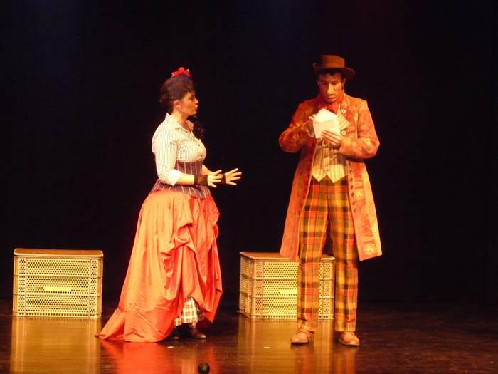 Zaraia aretoa bete du 'New Orleansko Cyrano' antzezlanak
