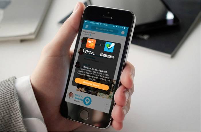 Foursquare-k diseinu eta estrategia berria ditu