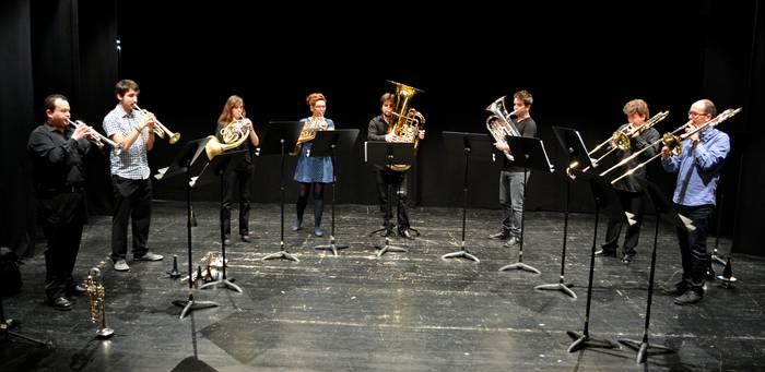 Euskadi Brass, musikari beste ikuspegi batetik begiratzeko aukera