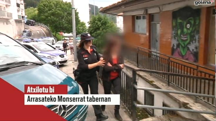 Martutenera bidali dute drogekin trafikatzea leporatuta Montserrat tabernako jabea