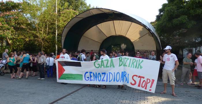 Palestinar herriarekin elkartasuna