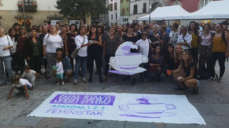 Euskal Herriko jardunaldi feministan parte hartzeko dei egin dute