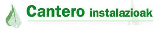 Cantero instalazioak logotipoa