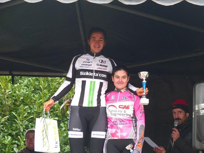 Ruiz de Larrinaga eta Lekuona garaile Arrasateko ziklo-krosean - 100