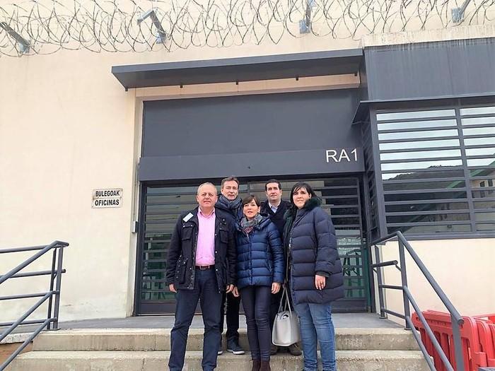 Espetxeen kudeaketa Euskadira ekartzea lehentasuna dela berretsi du EAJ-PNVk