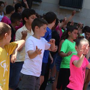 Eskolako jaiarekin borobildu dute Kultura Astea Luis Ezeizakoek