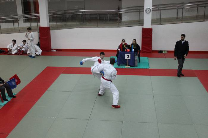 UDAko karatekak Euskadiko txapelketara